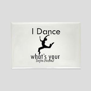 I Dance Rectangle Magnet
