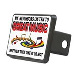 MUSIC Hitch Cover