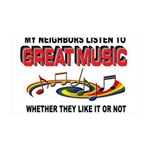 MUSIC Wall Decal