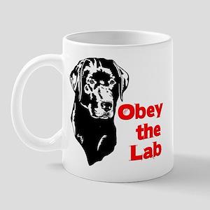 Obey the Lab Mug