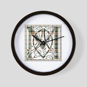 Monogram-MacKenzie htg brn Wall Clock