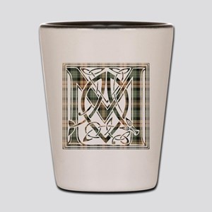 Monogram-MacKenzie htg brn Shot Glass