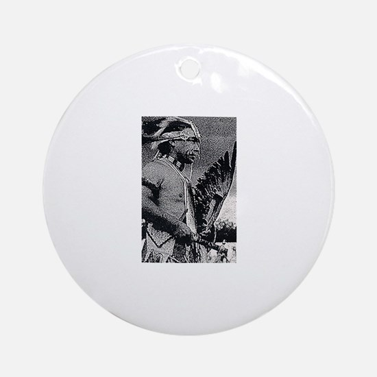 WAMPANOAG INDIAN Ornament (Round)