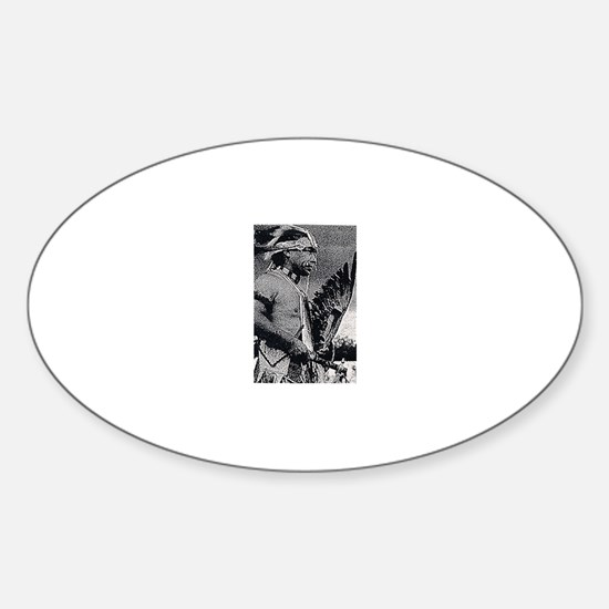 WAMPANOAG INDIAN Sticker (Oval)