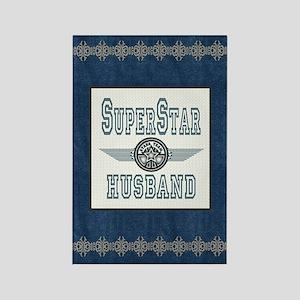 Superstar Husband Rectangle Magnet