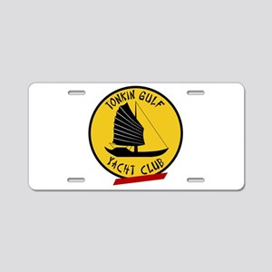 Tonkin Gulf Yacht Club Aluminum License Plate