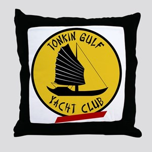 Tonkin Gulf Yacht Club Throw Pillow