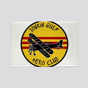 Tonkin Gulf Aero Club Rectangle Magnet