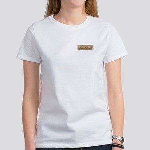 Daisy D. Name Tag Women's T-Shirt