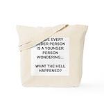 Old vs. Reality Tote Bag