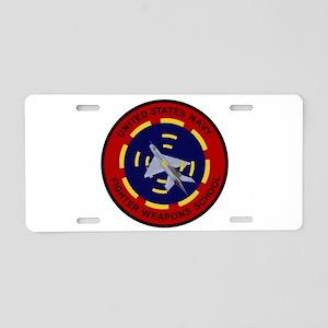 Top Gun Aluminum License Plate