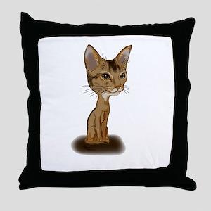 Cartoon Aby Throw Pillow