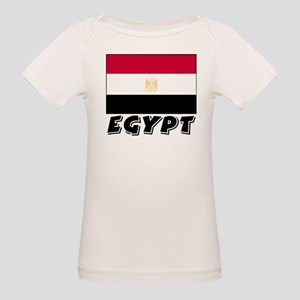 Egypt Flag (World) Organic Baby T-Shirt