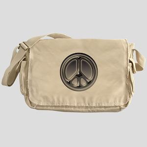 Black faded circle Messenger Bag