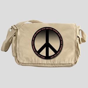 Circle of peace Messenger Bag