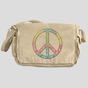Star peace Messenger Bag