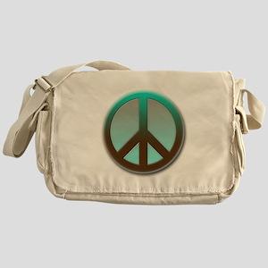 Green peace Messenger Bag