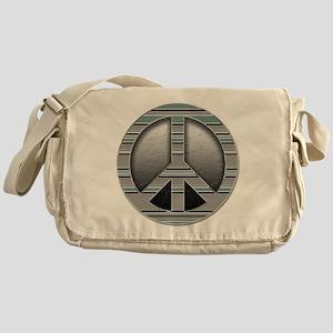 Metal peace Messenger Bag