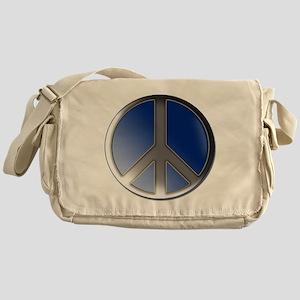 Peace bubble Messenger Bag