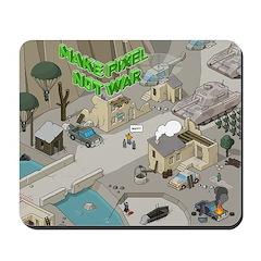 Mousepad - Make Pixel Not War #reissue