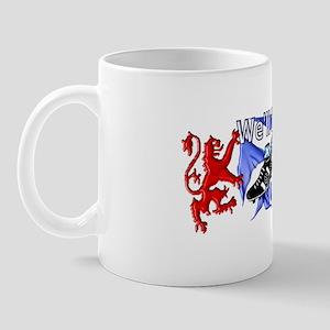 Tartan Army Boys Scotland Mug