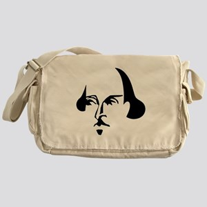 Simple Shakespeare Messenger Bag