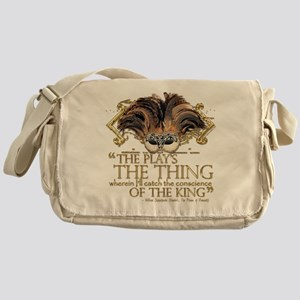 Shakespeare Hamlet Quote Messenger Bag