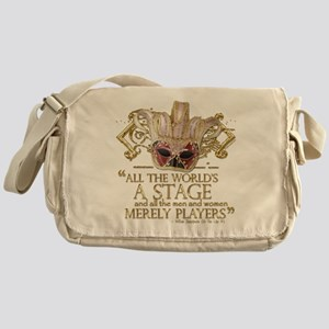 As You Like It Quote Messenger Bag