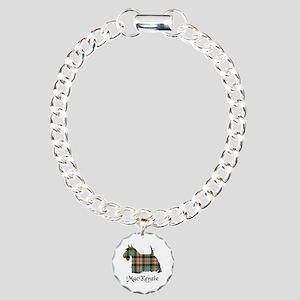 Terrier-MacKenzie htg br Charm Bracelet, One Charm