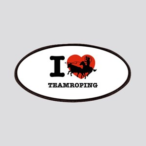 I love Team roping Patches