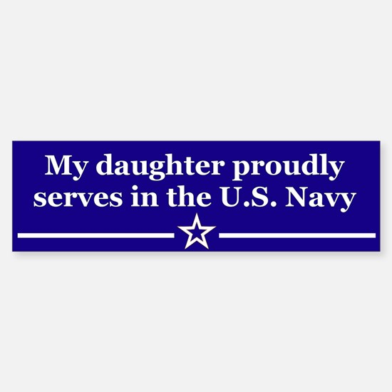 My daughter proudly serves Bumper Car Car Sticker