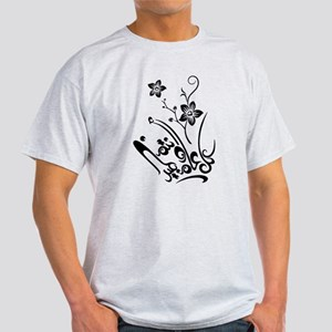 Happy Eid flower Light T-Shirt