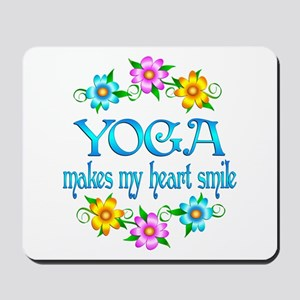 Yoga Smiles Mousepad