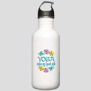 Yoga Smiles Stainless Water Bottle 1.0L