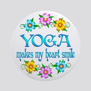 Yoga Smiles Ornament (Round)