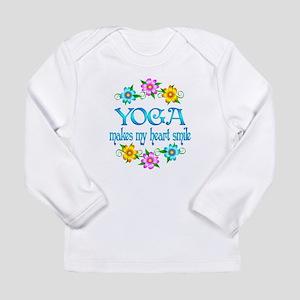 Yoga Smiles Long Sleeve Infant T-Shirt