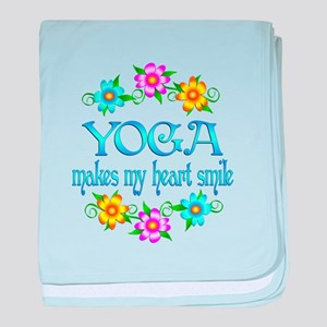 Yoga Smiles baby blanket