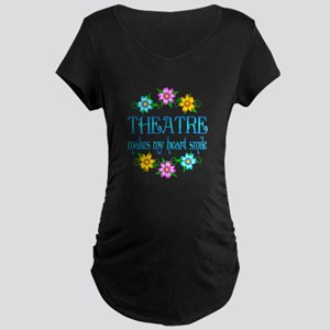 Theatre Smiles Maternity Dark T-Shirt
