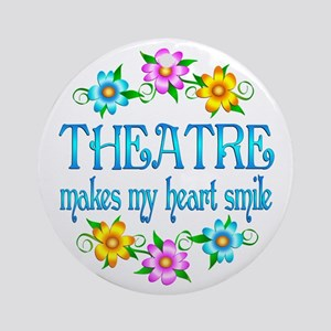 Theatre Smiles Ornament (Round)