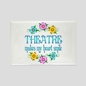 Theatre Smiles Rectangle Magnet