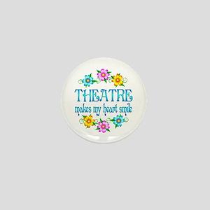 Theatre Smiles Mini Button