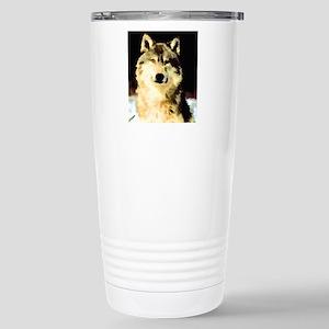 Like A Wolf Stainless Steel Travel Mug