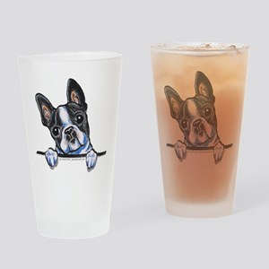 Curious Boston Drinking Glass