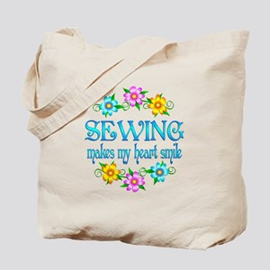 Sewing Smiles Tote Bag