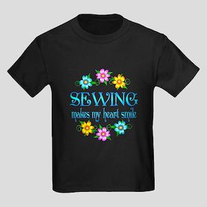 Sewing Smiles Kids Dark T-Shirt