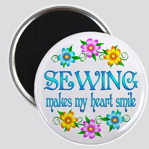 Sewing Smiles Magnet