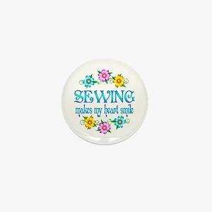 Sewing Smiles Mini Button