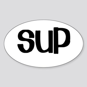SUP (Stand Up Paddle) Oval Sticker