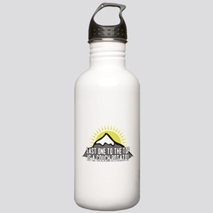 Last one to the Top Stainless Water Bottle 1.0L