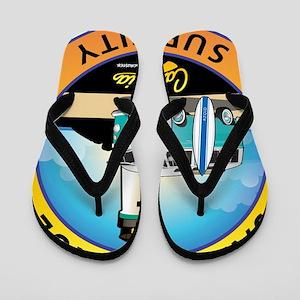 Santa Cruz California Surfer Van Flip Flops
